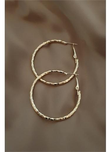Bej takı Bijuteri Küpe Altın